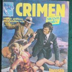 Cómics: CRIMEN Nº 44. Lote 86191512