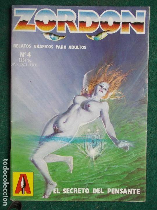 ZORDÓN Nº 4 (Tebeos y Comics - Glénat - Serie Erótica)