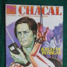 Cómics: CHACAL Nº 41. Lote 86191720