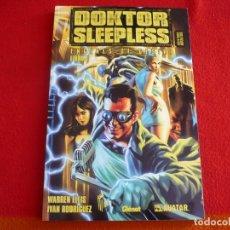 Cómics: DOKTOR SLEEPLESS TOMO 1 ( WARREN ELLIS IVAN RODRIGUEZ ) ¡MUY BUEN ESTADO! GLENAT AVATAR . Lote 86252528