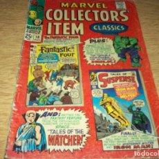 Cómics: MARVEL COLLECTORS ITEM, 1967 IROM MAN-HULK,FANTASTIC FOUR. Lote 230774660