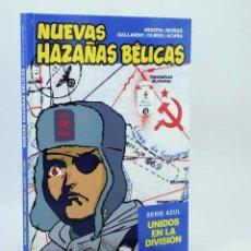 Cómics: NUEVAS HAZAÑAS BÉLICAS SERIE AZUL. UNIDOS EN LA DIVISIÓN (VVAA) GLENAT, 2011. OFRT ANTES 19,95E. Lote 297144213