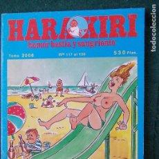 Cómics: HARAKIRI TOMO 2008 Nº DEL 117 AL 120. Lote 87108092