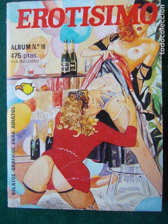COMIC EXTRA ALBÚM 16 -EROTISIMO (Tebeos y Comics - Glénat - Serie Erótica)
