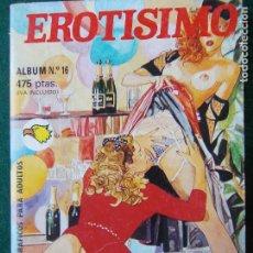 Cómics: COMIC EXTRA ALBÚM 16 -EROTISIMO. Lote 87110068