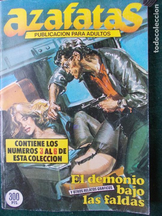 AZAFATAS ÁLBUM DEL 3 AL 6 (Tebeos y Comics - Glénat - Serie Erótica)