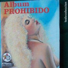 Cómics: ÁLBUM PROHIBIDO Nº 18. Lote 87111904