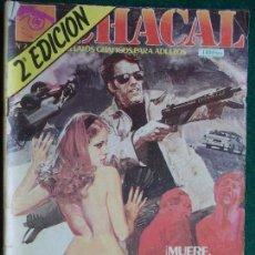 Cómics: CHACAL Nº 7 2ª EDICIÓN. Lote 87115136