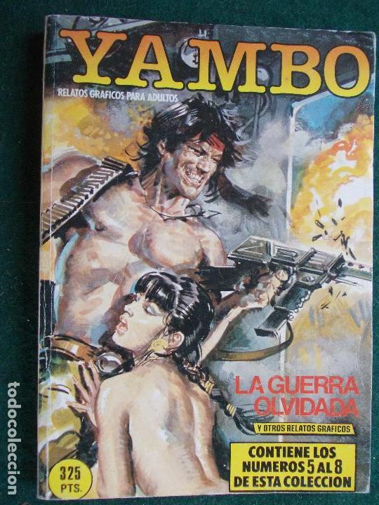 YAMBO EXTRA Nº DEL 5 AL 8 (Tebeos y Comics - Glénat - Serie Erótica)