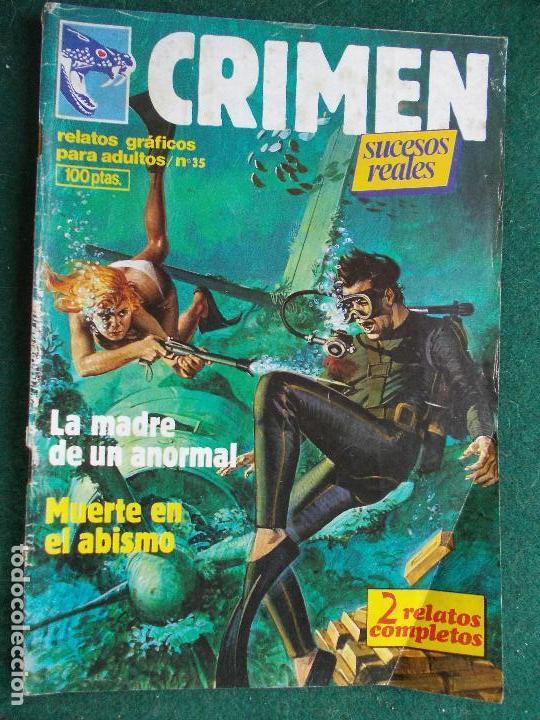 CRIMEN Nº 35 (Tebeos y Comics - Glénat - Serie Erótica)
