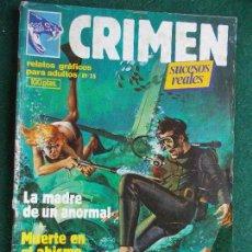 Cómics: CRIMEN Nº 35. Lote 87115756