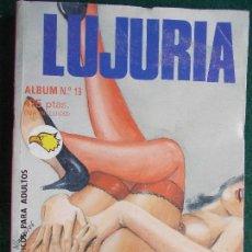 Cómics: LUJURIA ÁLBUM Nº 19. Lote 87198452