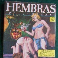 Cómics: EXTRA HEMBRAS Nº DEL 15 AL 18. Lote 87198520