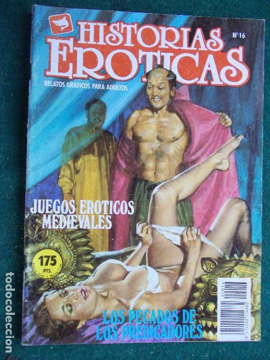 HISTORIAS ERÓTICAS Nº 16 (Tebeos y Comics - Glénat - Serie Erótica)
