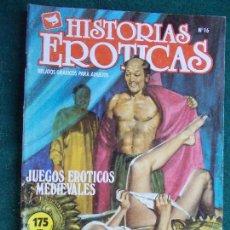 Cómics: HISTORIAS ERÓTICAS Nº 16. Lote 87198612