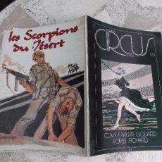 Cómics: LE NOUVEAU CIRCUS Nº 9,EN FRANCES,32X24,74 PAGINAS CLAVE F´MURR,GODARD POIVET PICHARD,TAPA BLANDA,. Lote 88434680