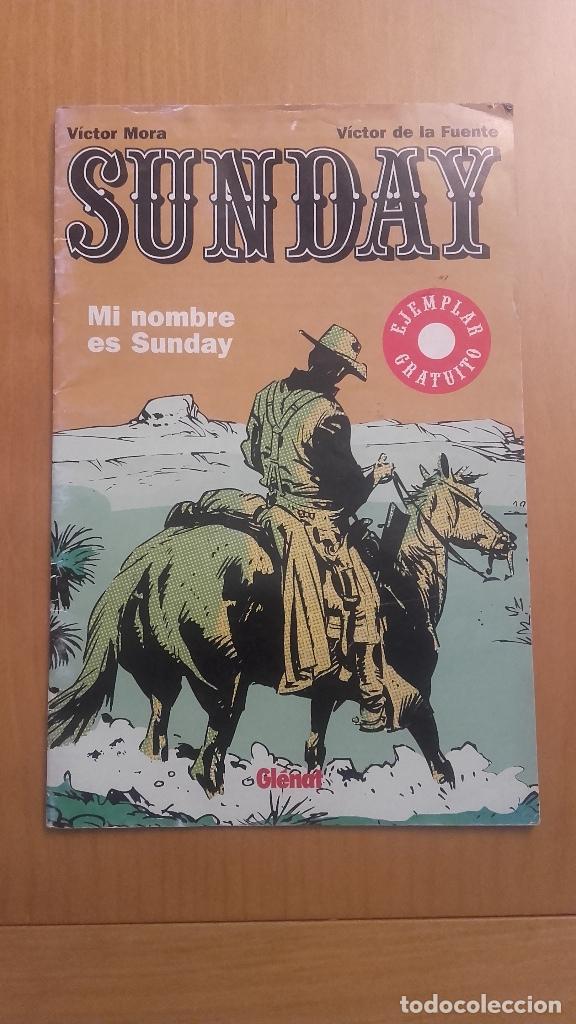 SUNDAY VICTOR MORA GLENAT (Tebeos y Comics - Glénat - Autores Españoles)