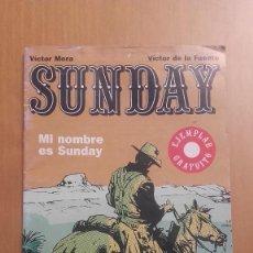 Comics: SUNDAY VICTOR MORA GLENAT. Lote 88834972