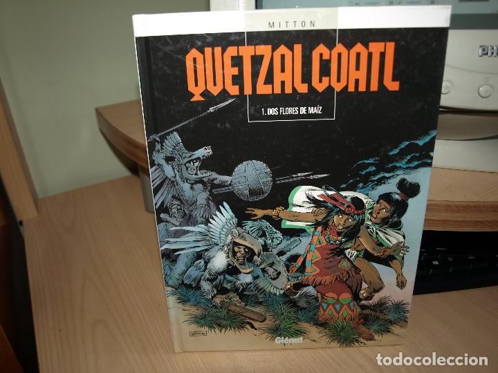 QUETZAL COATL - NÚMERO 1 - DOS FLORES DE MAIZ - TAPA DURA - GLENAT (Tebeos y Comics - Glénat - Comic USA)