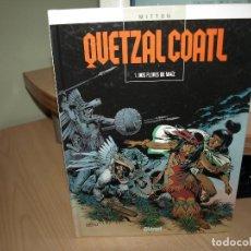 Cómics: QUETZAL COATL - NÚMERO 1 - DOS FLORES DE MAIZ - TAPA DURA - GLENAT. Lote 89675744