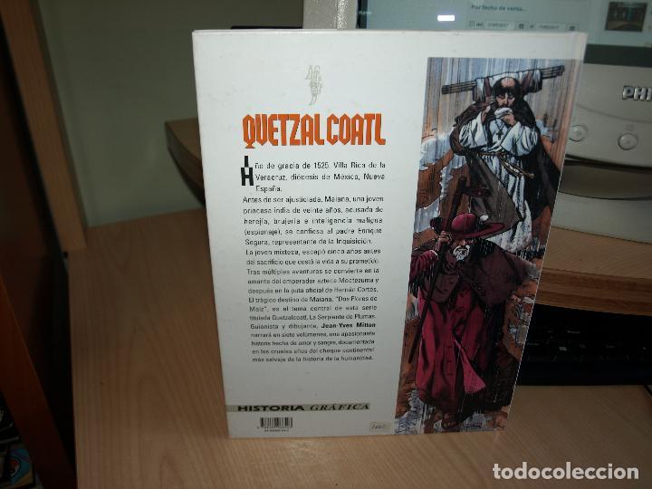 Cómics: QUETZAL COATL - NÚMERO 1 - DOS FLORES DE MAIZ - TAPA DURA - GLENAT - Foto 3 - 89675744