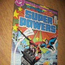 Cómics: SUPER POWERS NUM.4 1985 ART. KIRBY DC COMICS TYPO NOVARO BATMAN, SUPERMAN, DARKSEID. Lote 91016020