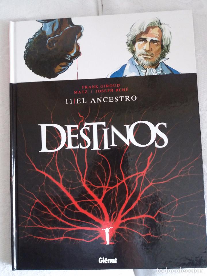 DESTINOS - TOMO 11 - EL ANCESTRO (Tebeos y Comics - Glénat - Comic USA)