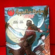 Cómics: ÁGUILA ROJA- LA SOCIEDAD DEL LOTO BLANCO. Lote 92360637