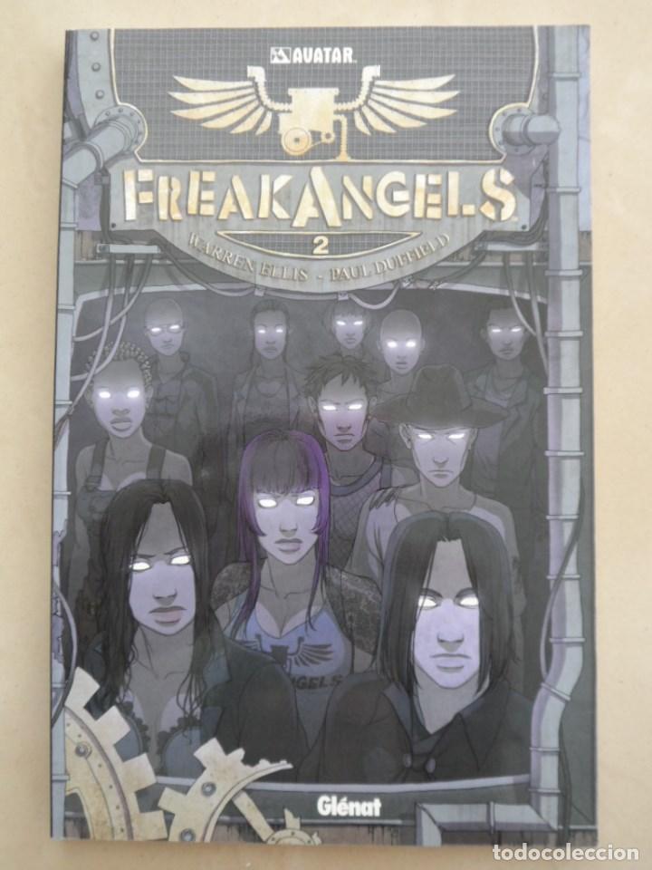 FREAKANGELS NRO 2 - POSIBLE ENVÍO GRATIS - GLENAT - WARREN ELLIS & PAUL DUFFIELD - FREAK ANGELS (Tebeos y Comics - Glénat - Comic USA)