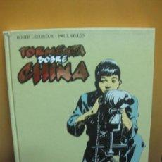 Cómics: TORMENTA SOBRE CHINA. ROGER LECUREUX. PAUL GILLON. GLENAT 2011.. Lote 93764685