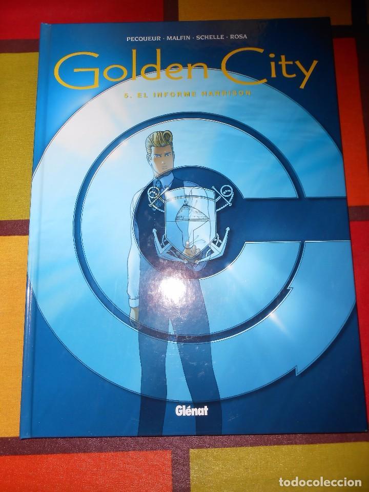 GOLDEN CITY 5 - EL INFORME HARRISON DANIEL PECQUEUR NICOLAS MALFIN - EDICIONES GLÉNAT 2004 (Tebeos y Comics - Glénat - Comic USA)