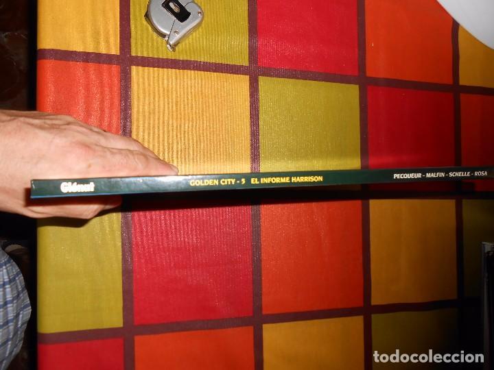 Cómics: Golden City 5 - El Informe Harrison Daniel Pecqueur Nicolas Malfin - Ediciones Glénat 2004 - Foto 3 - 93873165