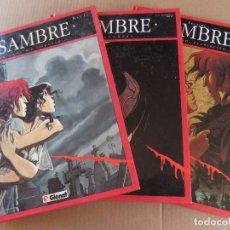 Cómics: SAMBRE LOTE DE 3 NUMEROS GLENAT TAPA DURA. Lote 94554075