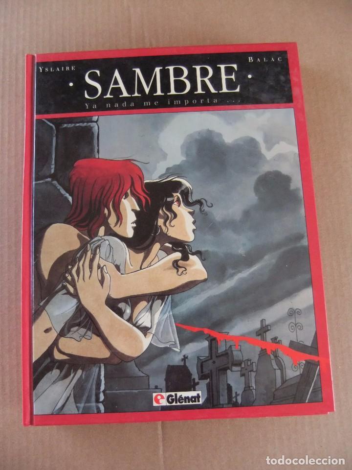 Cómics: SAMBRE LOTE DE 3 NUMEROS GLENAT TAPA DURA - Foto 2 - 94554075