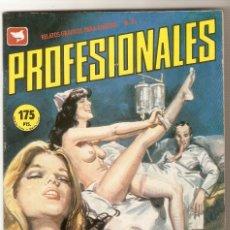 Cómics: PROFESIONALES - EROSPRESS 1987- COMIC PORNO ADULTOS- ORIGINAL. Lote 94950083