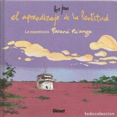 Cómics: EL APRENDIZAJE DE LA LENTITUD - PERE JOAN - GLENAT - TAPA DURA. Lote 95397071
