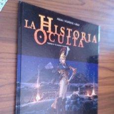 Cómics: LA HISTORIA OCULTA. 6. EL AGUILA Y LA ESFINGE. PECAU. PILIPOVIC. BREAU. TAPA DURA. BUEN ESTADO.. Lote 95409215