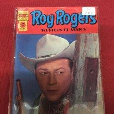 Cómics: ROY ROGERS WESTERN CLASSICS 5 MUY BUEN ESTADO REF.U6. Lote 95775147