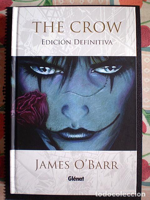 JAMES O'BARR: THE CROW (EDICIÓN DEFINITIVA) GLÉNAT (EL CUERVO) (Tebeos y Comics - Glénat - Comic USA)
