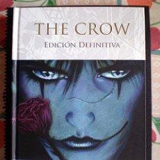 Cómics: JAMES O'BARR: THE CROW (EDICIÓN DEFINITIVA) GLÉNAT (EL CUERVO). Lote 95887967