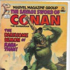 Fumetti: THE SAVAGE SWORD OF CONAN Nº 84 USA. Lote 96514107