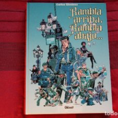 Cómics: CARLOS GIMÉNEZ, RAMBLA ARRIBA RAMBLA ABAJO. GLENAT 2001. IMPECABLE. Lote 96604591