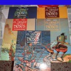 Cómics: EL VIENTO DE LOS DIOSES COTHIAS-ADAMOV COMPLETA GLENAT PRIMERA EDICIÓN. AÑOS 1993/1998. Lote 98370215