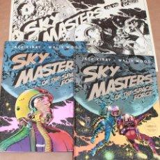 Cómics: SKY MASTERS 1 2 - JACK KIRBY - GLENAT AÑO 2008 - MUY BUEN ESTADO. Lote 98436431
