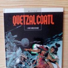 Cómics: QUETZAL COATL - QUETZALCOATL - DOS FLORES DE MAIZ - TAPA DURA. Lote 98498747