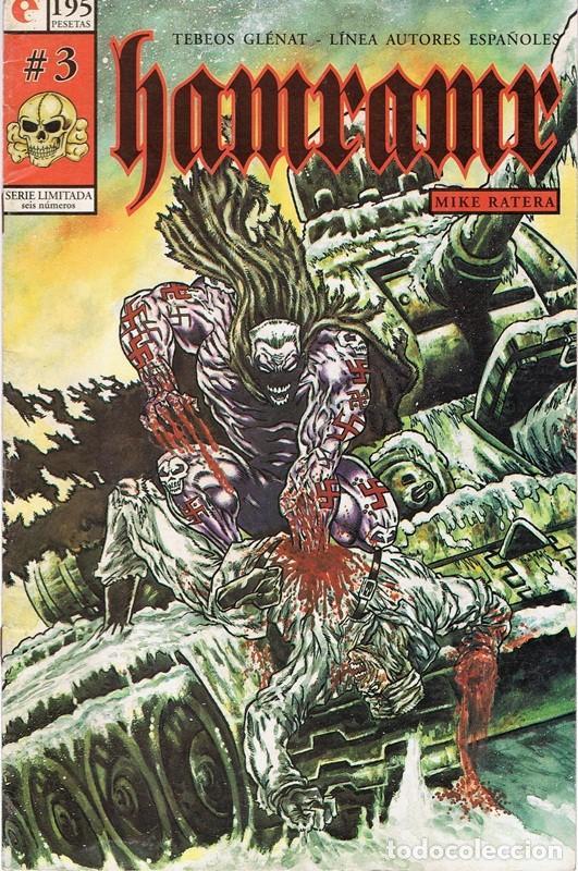 HAMRAMR Nº 3 DE 6 (Tebeos y Comics - Glénat - Autores Españoles)