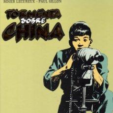 Cómics: TORMENTA SOBRE CHINA. ROGER LÉCUREUX - PAUL GILLON. COLECCION INTEGRAL. GLÉNAT. AÑO 2011. Lote 99522291
