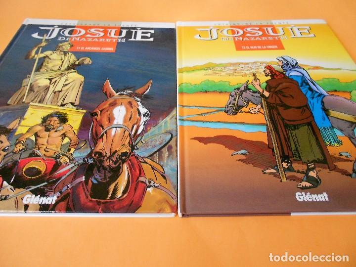 JOSUE DE NAZARETH. DOS VOLUMENES IMPECABLES. PATRICK COTHIAS & VICTOR DE LA FUENTE (Tebeos y Comics - Glénat - Autores Españoles)