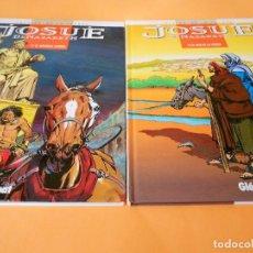 Cómics: JOSUE DE NAZARETH. DOS VOLUMENES IMPECABLES. PATRICK COTHIAS & VICTOR DE LA FUENTE. Lote 101524531