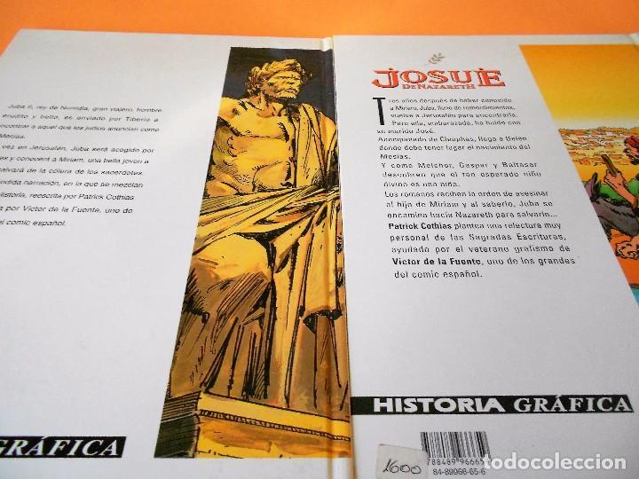 Cómics: JOSUE DE NAZARETH. DOS VOLUMENES IMPECABLES. PATRICK COTHIAS & VICTOR DE LA FUENTE - Foto 2 - 101524531